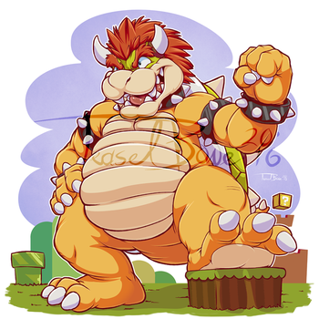 Bowser Day 2015 by teaselbone
