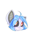 ChatBot Chibi Head by castformgrass