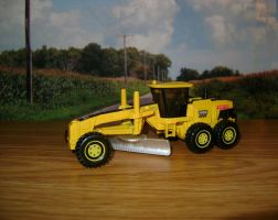 [2011] MBX Road Grader by HuskyDiecastPlanet