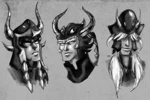 saint seiya - 3 judges by spoonybards