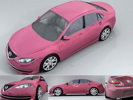 another mazda in blender by ryan-wears-a-hat
