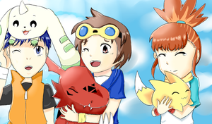 PRIMARY COLORS - Tamers by HanHan25