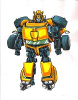 Moviefied G1 Bumblebee by Jochimus