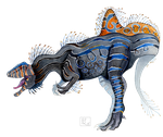 Concavenator Corcovatus by mythrilflare