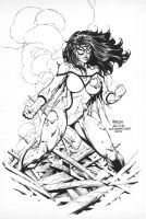 David Finch: Spiderwoman by boysicat