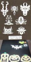 Halloween Paper Crafts by DoodleWEE
