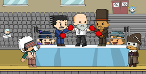 How Prof. Layton vs. Ace Attorney should be by McGenio