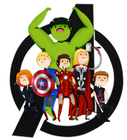 [Marvel] Avenger Time! by ValentineError