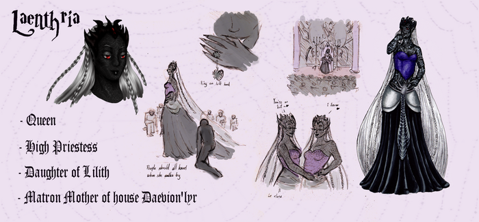Laenthria Daevion'lyr ref by Fralle-chan