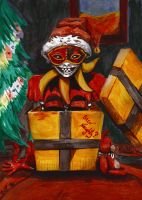 Postcard: Been Naughty? by Soukyan