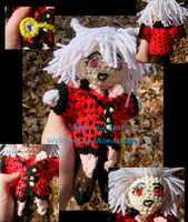 Peter White Plushie ~Details~ by LeafyWildFlower