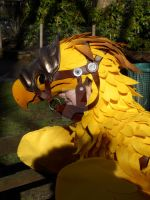 Odin The Chocobo 1 by ggeudraco