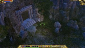 Titan Quest Screenshot of a cave entrance by Kleiner-Yoda