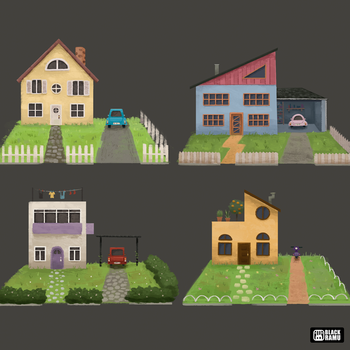 Houses by BlackRamu