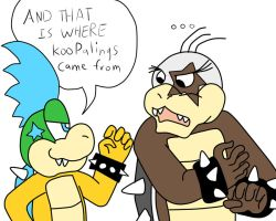 And that is where koopalings came from by lucario-sensei