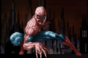 Spiderman zombie by hiram67