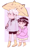 Zoldyck Hand Holding by bnha