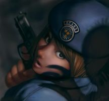 Jill Valentine by ChristmasSocks