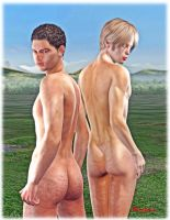2 butts by gmotier