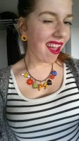 Fimo Necklace by hippehop