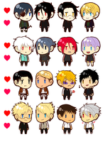 Otp Stickers! by Kay-land