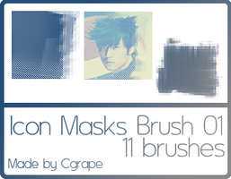 Icon Masks Brush by cgrape