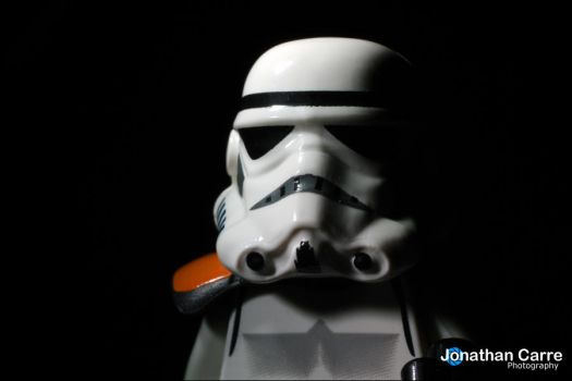 160512 Portrait of a Stormtrooper by InsaneGelfling