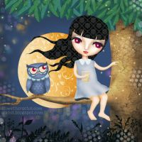 Catching Fireflies- stKhit by childrensillustrator