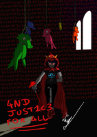 And Justice for All - Terezi by LowSpiritDegenerate