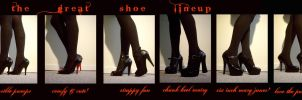TEGANS SHOE COLLECTION by glittersniffer