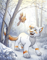 Lilymud Secret Santa for Fireheart28 by charfade