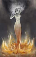 Fire Spirit by Ludmila-Cera-Foce