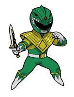 Burai the DragonRanger by JoelRCarroll
