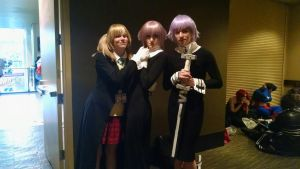 Little Soul Eater group -  Sakura-Con 2015 by Drum-Styx