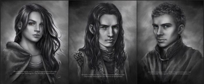 Commission Portraits -Set 6 by Saimain