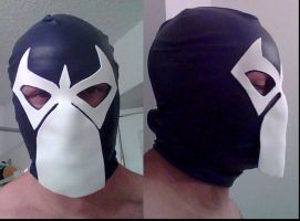 Bane Knightfall Mask WIP 1 by ajb3art