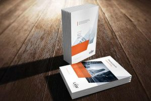 A4 Brochure Cover Mock-Up by calwincalwin