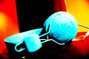 WESC headphones rare by happymealzz