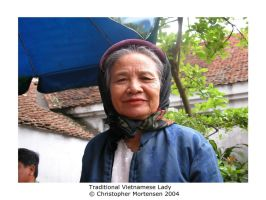 Traditional Vietnamese Lady by Gelios