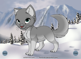 Cinderpelt by 00GlaceonRoxz00
