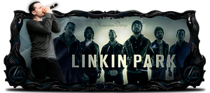 Linkin Park Sign Modelada by MaiconDesp