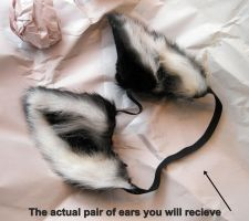For sale! A set of black ears direct from Beetle by Beetlecat