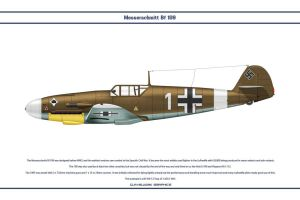 Bf 109 F-2 JG53 1 by WS-Clave