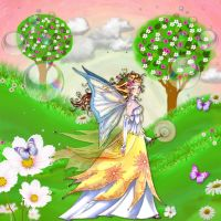 Painted Valley of Fairies by Creativescrapmom
