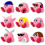 My Custom Kirby Hats 17 (request) by Tommypezmaster