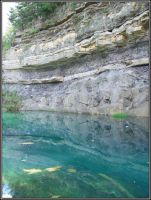 The Blue Lagoon Cliffs an Pool by Talking-Muffins