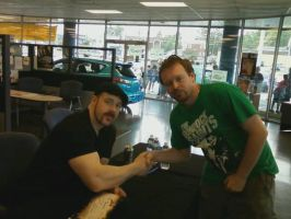 WWE Superstar Sheamus and I by maniackiller013