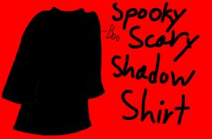 Spooky scary shadow shirt by Cheedo6