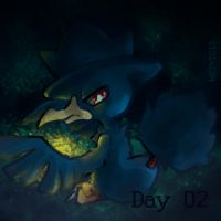 Day 02 - Favorite Dark Type by Mikoto-chan
