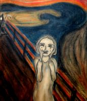 The scream revisited by Hypholia